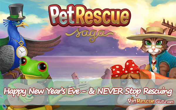 We Wish You a Happy Pet-Rescuing New Year