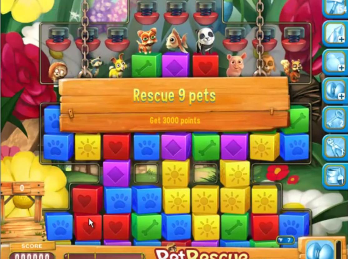 Pet Rescue Saga Level 746 | petrescueguru com