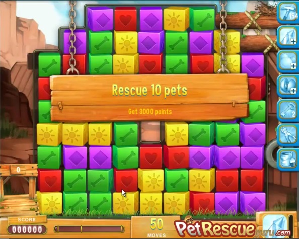 Pet Rescue Saga Level 748 | petrescueguru com