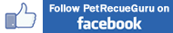 Follow Pet Rescue Guru on Facebook